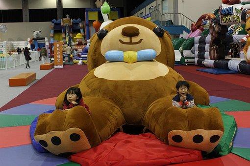 Bear, The Largest Bear In The World, Teddy Bear, Doll