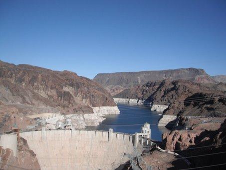 Boulder Dam, Las Vegas, Nevada, Hoover Dam, Dam