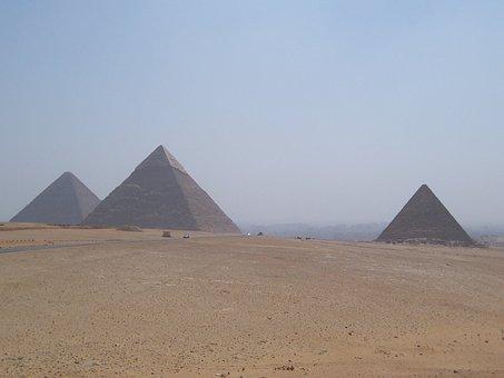 Pyramids, Cairo, Egypt, Cheops, Tomb, Pharaonic