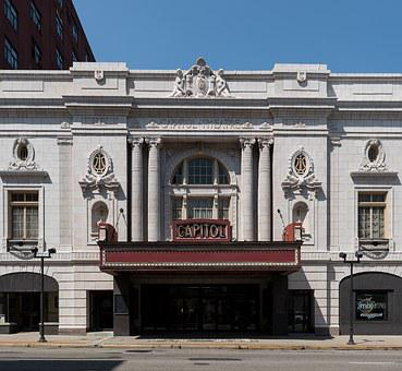 Capitol Theatre, Theater, Music Hall, Building