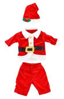 Celebration, Christmas, Claus, Costume, Fur, Hat