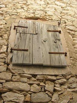 Window, Croatia, Susak Island, House, Architecture