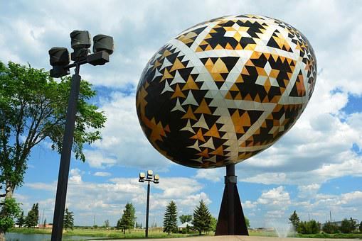 World's Largest Pysanka Egg, Easter Egg, Vegreville