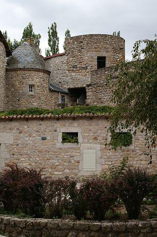 Rustic Building, Stones, Village, France, Green