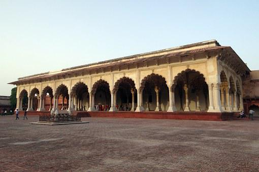 Diwan-i-am, Agra Fort, Hall Of Audience, Unesco Site