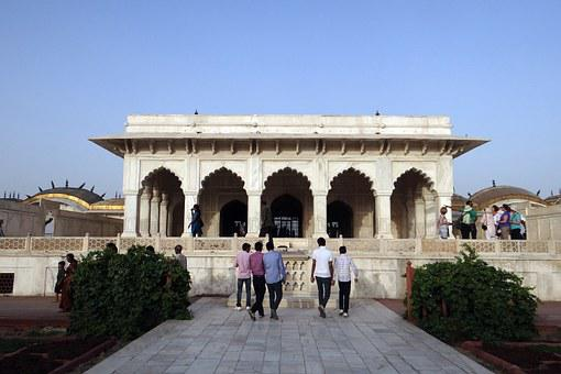 Diwan-i-khas, Hall Of Private Audience, Agra Fort