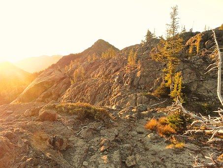 Ingalls Pass, Sunrise, Washington, Epic, Rocks, Hiking