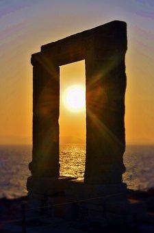 Holiday, Greece, Sunset, Summer, Travel, Sea, Island