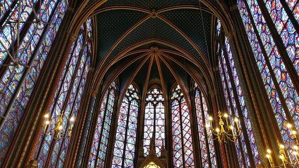 Church, Holy Chapel, Paris, Heritage