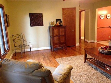 Home, House, Living Room, Family, Residential, Interior