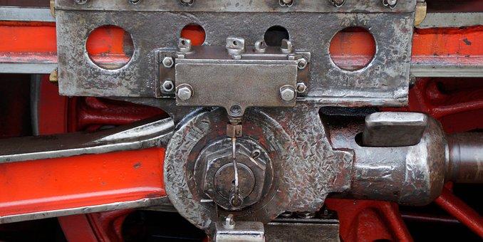 Steam Train, Driving, Depot, Lubrication