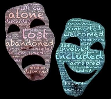 Masks, Persona, Duality, Polarity, Opposites, Drama