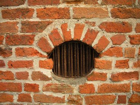 Medieval Castle, Detail, Slat Window, Ventilation