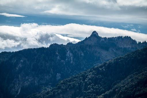 Mountain, Alpine, Ettaler Manndl, Summit