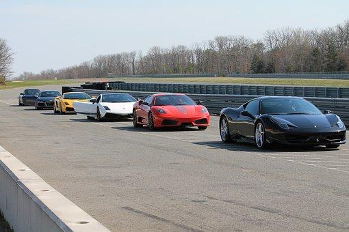 Exotic Cars Ferrari, Lamborghini, Race, Car, Automobile