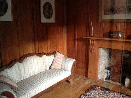 Cottage, Lounge, Home, Old House, House, Interior, Room