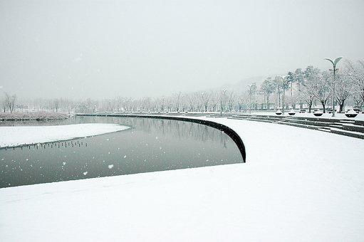 Sangam World Cup Park, Snow, Sangam, World Cup Park