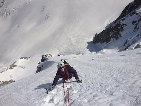 Mountain, Snow, Mont Blanc, Mountaineering