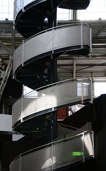 Stair, Millenáris, Spiral Staircase