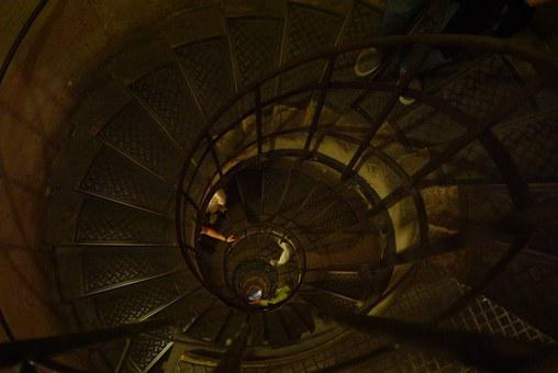 Staircase, Spiral Staircase, Triumphal Arch, Monument