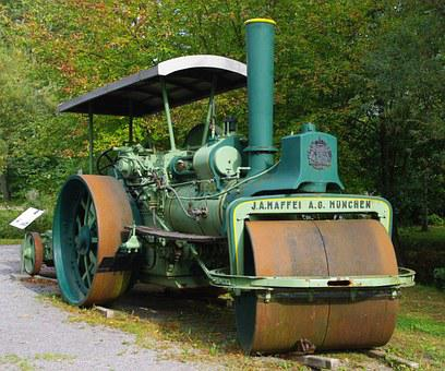 Steam Roller, Technology, Machines