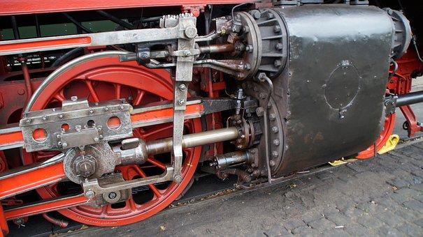 Steam Train, Driving, Lubrication, Beekbergen