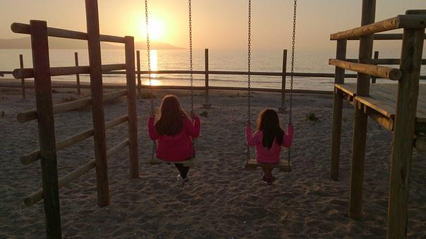 Sunset, Sun, Colors, Beach, Landscape, Background