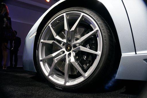 Car, Wheels, Tire, Lamborghini, Aventador