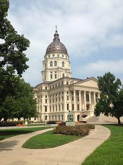 Kansas, Capitol, Government, State, Topeka