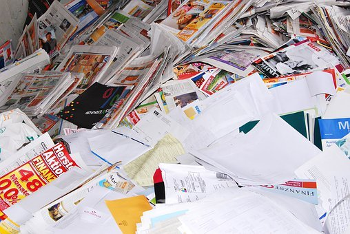 Paper, Recycling, Waste, Ecology, Reuse, Trash, Junk