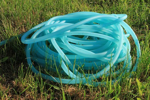 Earth, Garden, Hose, Nylon, Pipe, Pvc, Reel, Water