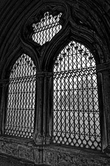 Windows, Cathedral, Stained Glass, Gothic, Medieval