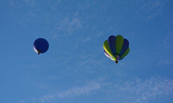 Balloons, Bristol, Air, High, Flying, Sky, Uk
