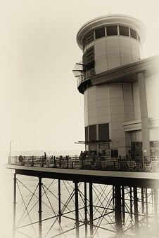 Pier, Weston Super Mare, Sea, Beach, Coast, Seaside