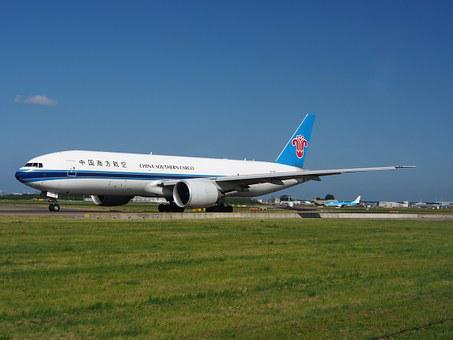 China Southern Airlines, Boeing 777, Aircraft, Airplane