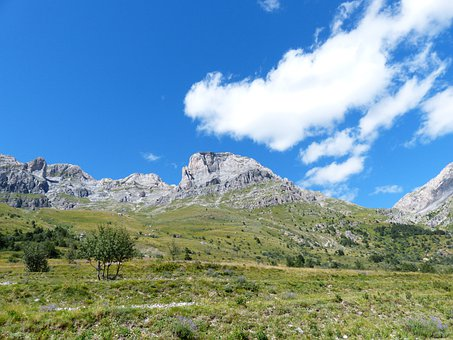 Rocca Garba, Mountains, Summit, Rock, Bricchi Neri
