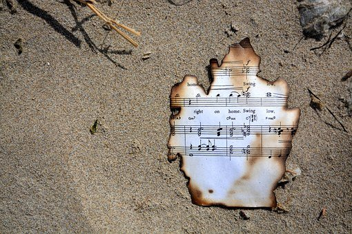 Burnt Music, Oregon, Cannon Beach, Music, Chime, Note
