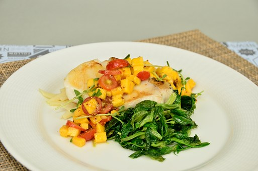 Jing Fried Fish, Tomato Time Vegetable, Dish