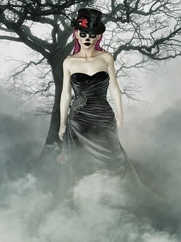 Gothic, Fantasy, Dark, Female, Fantasy Girl