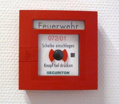 Fire Detector, Red, Box, Alarm, Alarm Detectors, Fire