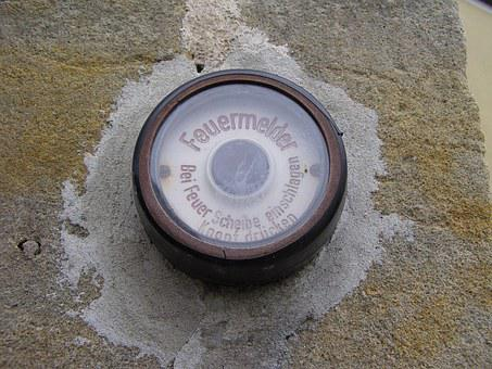 Feurmelder, Fire Detectors, Button, Alarm, Fire