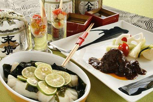 Fish Dishes, Boiled Wine, Sake And Cooking, Rise Wine