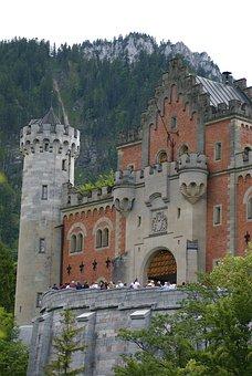 Neuschwanstein Castle, Castle, Neuschwanstein, Germany