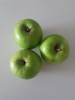 Apples, Green, Green Apple, Fruit, Delicious, Color
