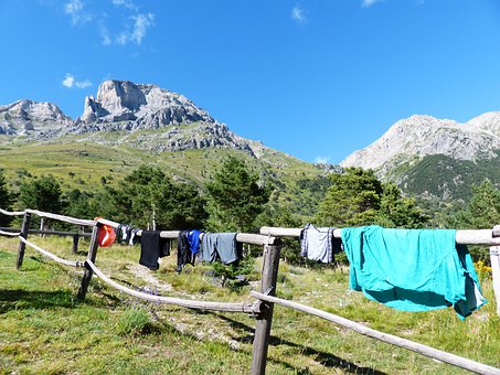 Laundry, Dry, Clothing, Hiking Clothes, Fence