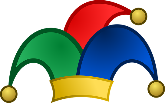 Bells, Blue, Fool, Fool's Hat, Green, Hat, Icon, Jester