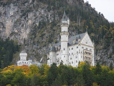 Castle, Kristin, Fairy Castle, Mountains, Culture
