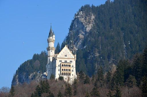 Kristin, Castle, Fairy Castle, Bavaria, Allgäu