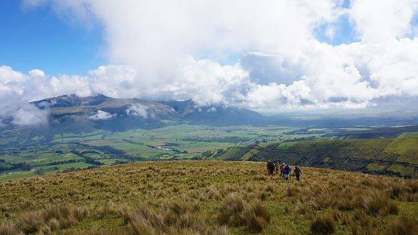 Ecuador, Paramo, Pasochoa, Landscape, Mountain, America
