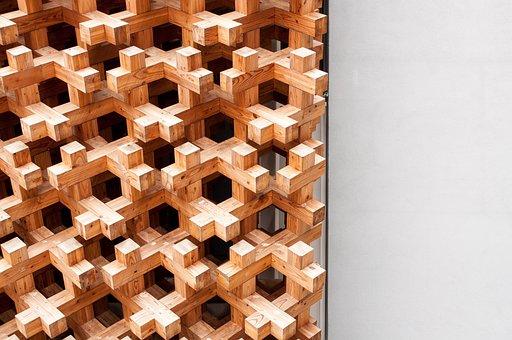 Texture, Wood, Japan, Exhibition, Milan, Pavilion, Wall
